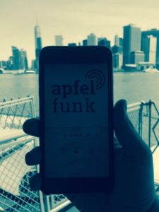 Der Apfelfunk in New York City
