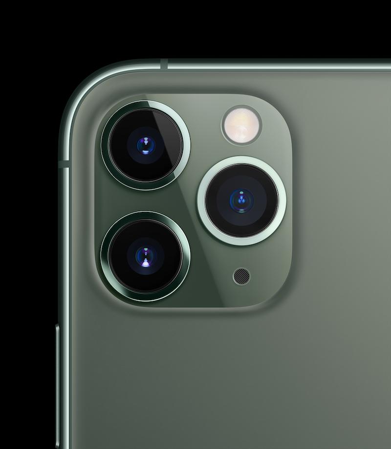 Stein des Anstoßes: Das neue Aussehen des Kamerasystems. Foto: Apple
