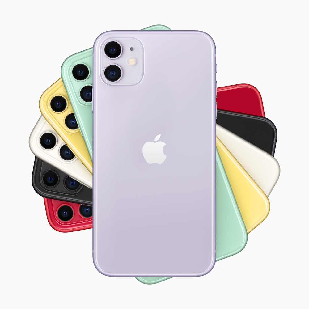 Die Alternative zum iPhone 11 Pro: Das iPhone 11. Foto: Apple
