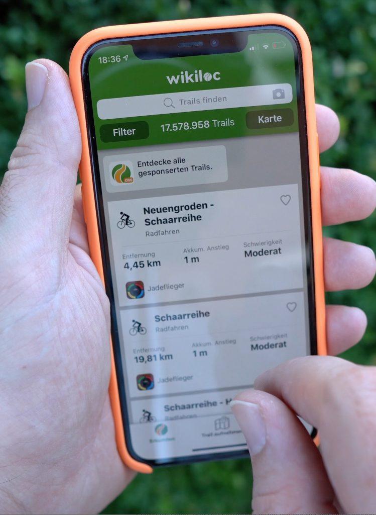 Wikiloc ist eine von mehreren Wander-Apps für iPhone und Apple Watch.